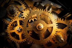 ingranaggi orologio - texture