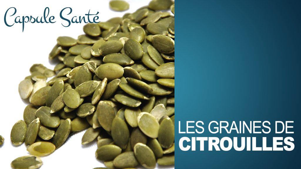 Les graines de citrouilles